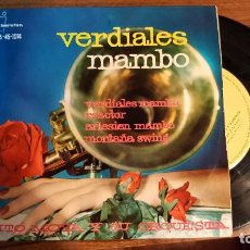 Discos de vinilo: TITO MOYA Y SU ORQUESTA--- VERDIALES MAMBO-- REACTOR --ARLESIEN MAMBO --- MONTAÑA SWING --AÑO 1961. Lote 95751783