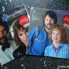 Discos de vinilo: LOTE 2 VINILOS DE - PIMPINELA - CON DISCOGRAFICA EPIC AÑO1985. Lote 95754107