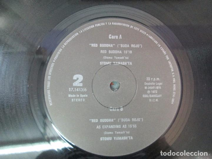 Discos de vinilo: 2 LP VINILO. STOMU YAMASH´TA: EAST WIND. RED BUDDHA. VER FOTOGRAFIAS ADJUNTAS - Foto 6 - 95754843