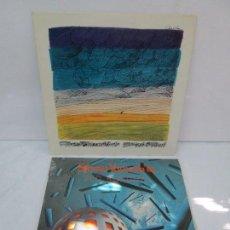 Discos de vinilo: 2 LP VINILO. STOMU YAMASH´TA: EAST WIND. RED BUDDHA. VER FOTOGRAFIAS ADJUNTAS. Lote 95754843