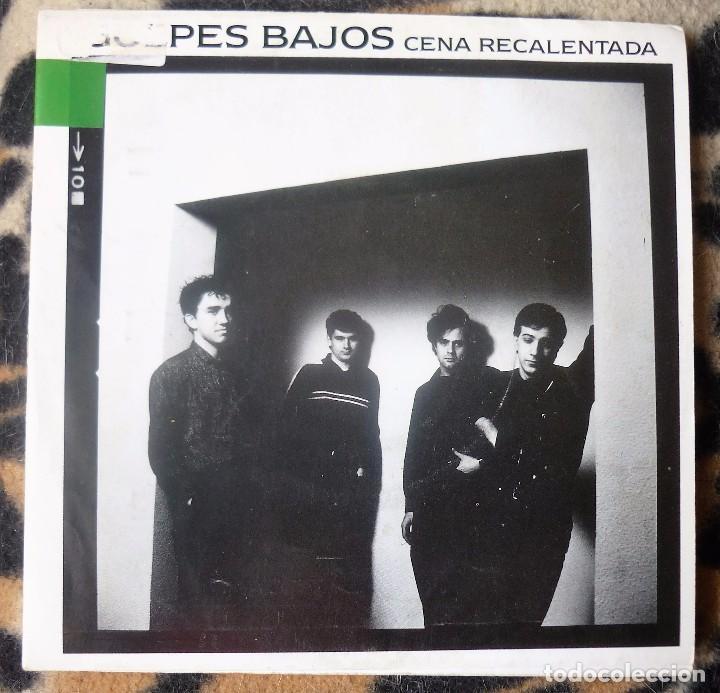 GOLPES BAJOS- CENA RECALENTADA + CENA RECALENTADA - SINGLE- NUEVOS MEDIOS -1990 - PROMO (Música - Discos - Singles Vinilo - Grupos Españoles de los 90 a la actualidad)