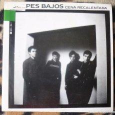 Discos de vinilo: GOLPES BAJOS- CENA RECALENTADA + CENA RECALENTADA - SINGLE- NUEVOS MEDIOS -1990 - PROMO. Lote 95757667