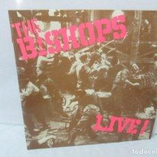 Discos de vinilo: THE BISHOPS. LIVE!. LP VINILO. MOVIEPLAY 1978. VER FOTOGRAFIAS ADJUNTAS. Lote 95762171