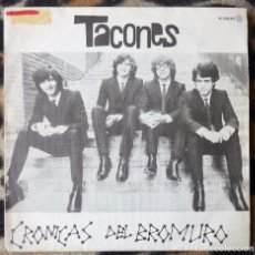 Discos de vinilo: TACONES- CRÓNICAS DEL BROMURO + RITA- SINGLE- CHAPA DISCOS -1980- PROMO. Lote 95762567