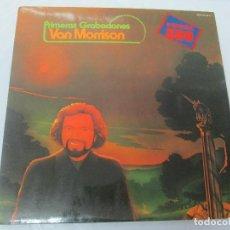 Discos de vinilo: PRIMERAS GRABACIONES VAN MORRISON. LP VINILO. HISPAVOX WARNER BROS 1975. VER FOTOGRAFIAS. Lote 95763243