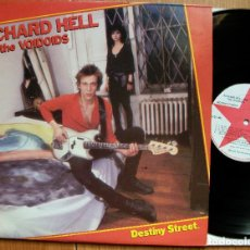 Discos de vinilo: RICHARD HELL AND THE VOIDOIDS - DESTINY STREET- RED STAR RECORDS 1982. Lote 95763479