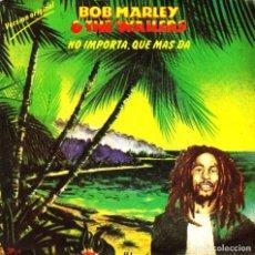 Discos de vinilo: SINGLE BOB MARLEY & THE WAILERS NO IMPORTA QUE MAS DA ZIMBABWE SPAIN 45 SINGLE 1980. Lote 95763959