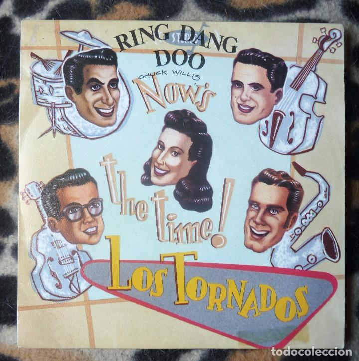 Discos de vinilo: LOS TORNADOS. now´s the time- ring dang doo+ summertime- single- LA ROSA RECORDS -1991 - Foto 1 - 95764147