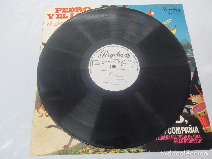 Discos de vinilo: PEDRO Y EL LOBO. SERGEI PROKOFIEFF. PICCOLO, SAXO Y COMPAÑIA. JEAN BROUSSOLLE Y ANDRE POPP. - Foto 3 - 95764791