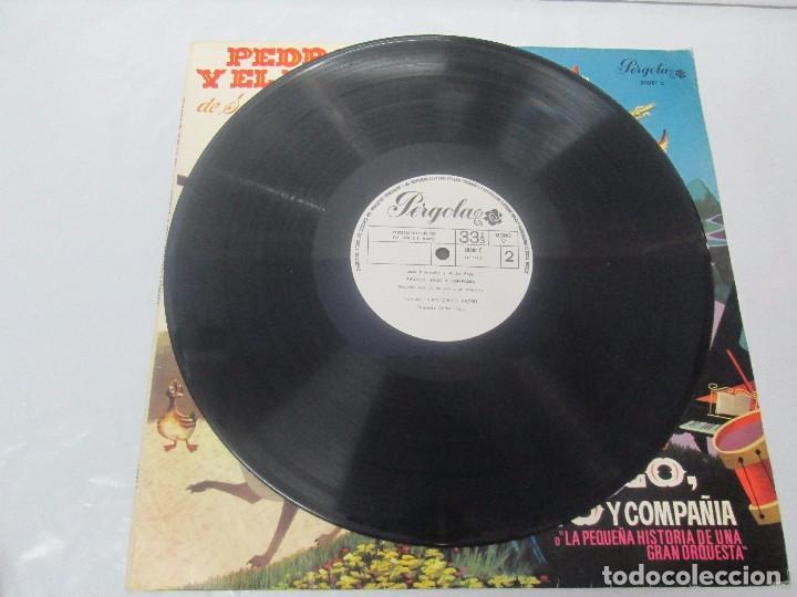 Discos de vinilo: PEDRO Y EL LOBO. SERGEI PROKOFIEFF. PICCOLO, SAXO Y COMPAÑIA. JEAN BROUSSOLLE Y ANDRE POPP. - Foto 5 - 95764791