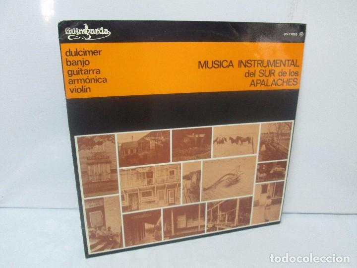 MUSICA INSTRUMENTAL DEL SUR DE LOS APALACHES. LP VINILO. GIMBARDA 1979. VER FOTOGRAFIAS (Música - Discos - Singles Vinilo - Étnicas y Músicas del Mundo)