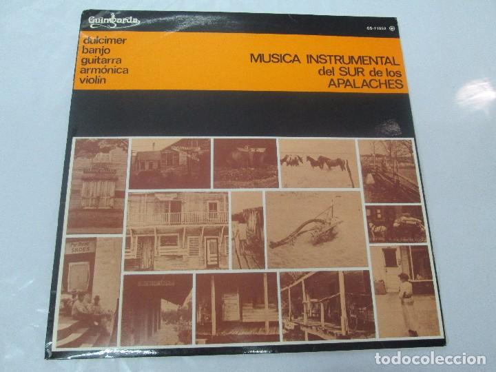 Discos de vinilo: MUSICA INSTRUMENTAL DEL SUR DE LOS APALACHES. LP VINILO. GIMBARDA 1979. VER FOTOGRAFIAS - Foto 2 - 95765155