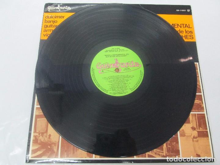 Discos de vinilo: MUSICA INSTRUMENTAL DEL SUR DE LOS APALACHES. LP VINILO. GIMBARDA 1979. VER FOTOGRAFIAS - Foto 3 - 95765155
