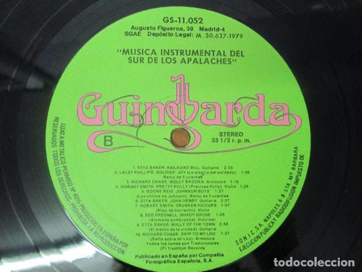 Discos de vinilo: MUSICA INSTRUMENTAL DEL SUR DE LOS APALACHES. LP VINILO. GIMBARDA 1979. VER FOTOGRAFIAS - Foto 6 - 95765155