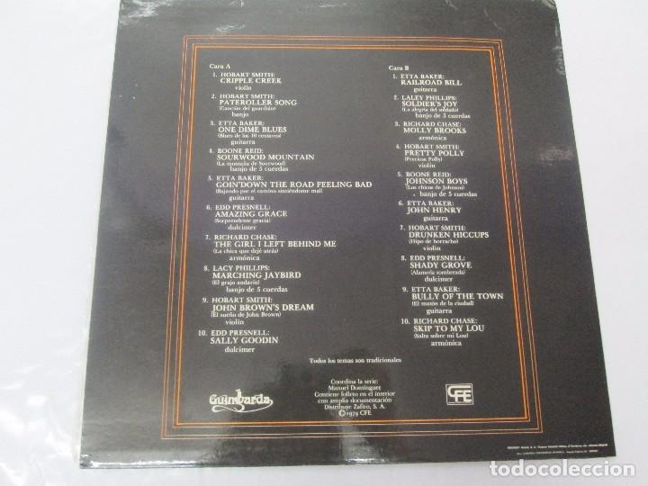Discos de vinilo: MUSICA INSTRUMENTAL DEL SUR DE LOS APALACHES. LP VINILO. GIMBARDA 1979. VER FOTOGRAFIAS - Foto 8 - 95765155