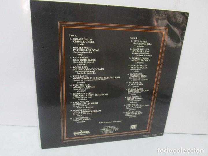 Discos de vinilo: MUSICA INSTRUMENTAL DEL SUR DE LOS APALACHES. LP VINILO. GIMBARDA 1979. VER FOTOGRAFIAS - Foto 9 - 95765155