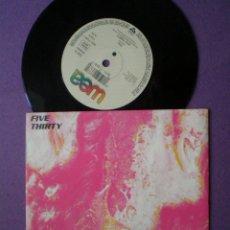Discos de vinilo: FIVE THIRTY - ABSTAIN / YOU - SINGLE WEA 1990 // BRITPOP NEO PSYCH MOD BRIT POP. Lote 95765643