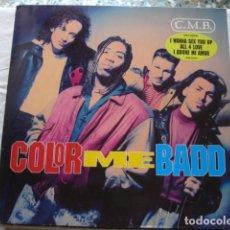 Discos de vinilo: COLOR ME BADD C.M.B. . Lote 95766387