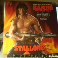 Discos de vinilo: RAR LP 33. RAMBO. FIRST BLOOD PART III. FRANK STALLONE. MADE IN SPAIN. Lote 95766439