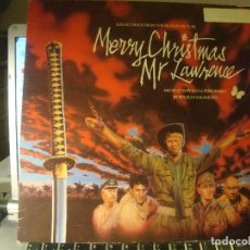 Discos de vinilo: RAR LP 33. MERRY CHRISTMAS MR LAWRENCE. DAVID BOWIE. MADE IN SPAIN. Lote 95766727