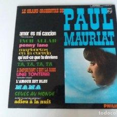 Discos de vinilo: LA GRAN ORQUESTA DE PAUL MAURIAT. ALBUM PHILIPS Nº 5. RAREZA COLECCIONABLE EDICIÓN ORIGINAL 1967. Lote 95767127