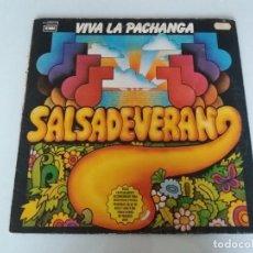 Discos de vinilo: SALSA DE VERANO, VIVA LA PACHANGA. VINILO LP AÑO 1981 EMI 064021748 EDICIÓN ESPAÑOLA. Lote 95767723