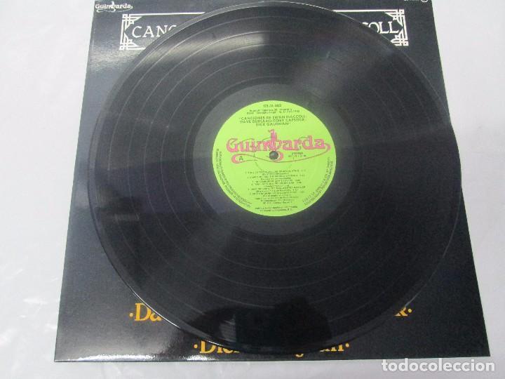 Discos de vinilo: CANCIONES DE EWAN MACCOLL. DAVE BURLAND. TONY CAPSTICK. DICK GAUGHAN. LP VINILO. GUIMBARDA 1980. - Foto 3 - 95767727