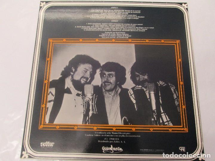 Discos de vinilo: CANCIONES DE EWAN MACCOLL. DAVE BURLAND. TONY CAPSTICK. DICK GAUGHAN. LP VINILO. GUIMBARDA 1980. - Foto 7 - 95767727