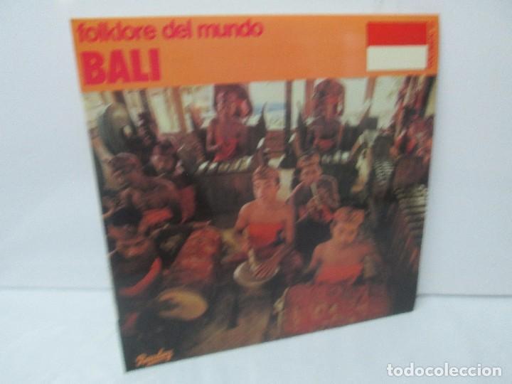 FOLKLORE DEL MUNDO. BALI. LP VINILO. MOVIEPLAY. 1981. VER FOTOGRAFIAS ADJUNTAS (Música - Discos - Singles Vinilo - Étnicas y Músicas del Mundo)