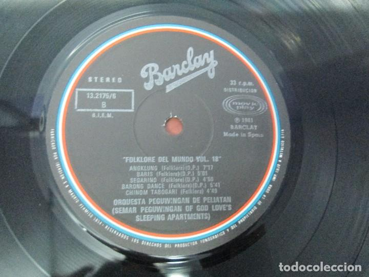 Discos de vinilo: FOLKLORE DEL MUNDO. BALI. LP VINILO. MOVIEPLAY. 1981. VER FOTOGRAFIAS ADJUNTAS - Foto 6 - 95767907