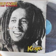 Discos de vinilo: LP DE BOB MARLEY & THE WAILERS-KAYA-ESPAÑOL 1979. Lote 95769827