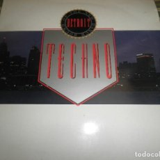 Discos de vinilo: TECHNO THE NEW DANCE SOUND OF DETROIT DOBLE LP - ORIGINAL INGLES - 10 RECORDS 1980 GATEFOLD COVER -. Lote 95770139