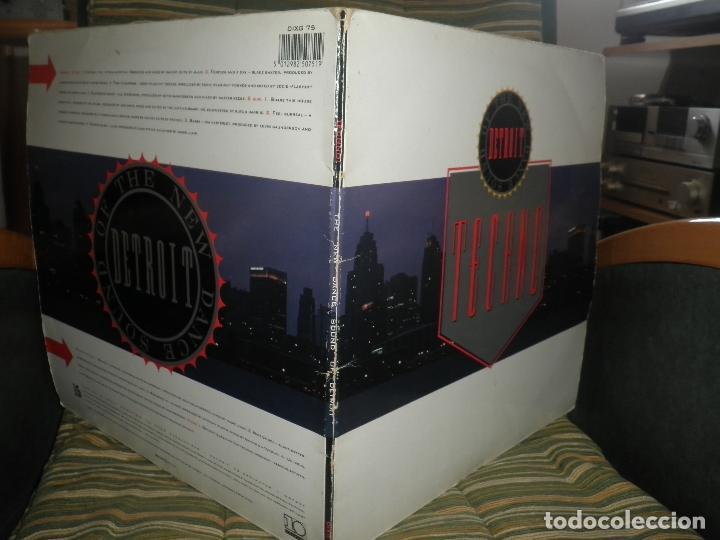 Discos de vinilo: TECHNO THE NEW DANCE SOUND OF DETROIT DOBLE LP - ORIGINAL INGLES - 10 RECORDS 1980 GATEFOLD COVER - - Foto 7 - 95770139
