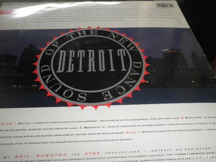 Discos de vinilo: TECHNO THE NEW DANCE SOUND OF DETROIT DOBLE LP - ORIGINAL INGLES - 10 RECORDS 1980 GATEFOLD COVER - - Foto 10 - 95770139