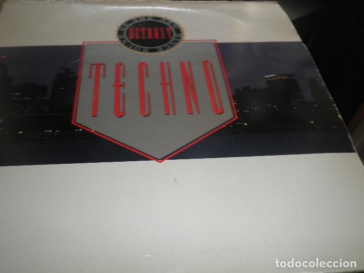 Discos de vinilo: TECHNO THE NEW DANCE SOUND OF DETROIT DOBLE LP - ORIGINAL INGLES - 10 RECORDS 1980 GATEFOLD COVER - - Foto 11 - 95770139