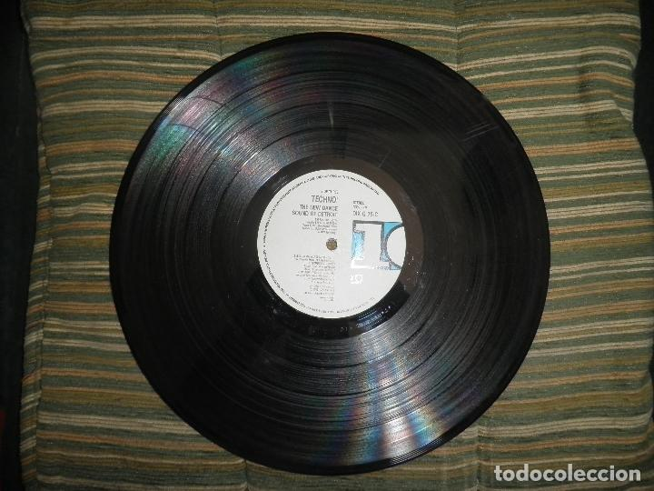 Discos de vinilo: TECHNO THE NEW DANCE SOUND OF DETROIT DOBLE LP - ORIGINAL INGLES - 10 RECORDS 1980 GATEFOLD COVER - - Foto 17 - 95770139