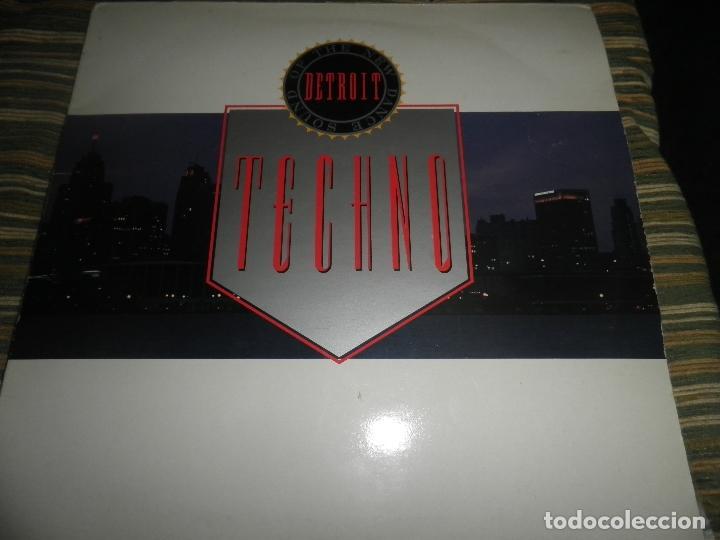Discos de vinilo: TECHNO THE NEW DANCE SOUND OF DETROIT DOBLE LP - ORIGINAL INGLES - 10 RECORDS 1980 GATEFOLD COVER - - Foto 25 - 95770139