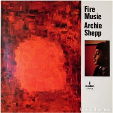 Discos de vinilo: ARCHIE SHEPP – FIRE MUSIC - IMPULSE! – AS-86, MCA RECORDS – AS-86 (GERMANY). Lote 95770607