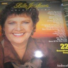 Discos de vinilo: BILLIE JO SPEARS - COUNTRY GIRL LP - EDICION INGLESA - WARWICK RECORDS 1981 - MUY NUEVO (5). Lote 95770939
