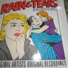 Discos de vinilo: RAIN & TEARS HIT BALLADS OF THE SIXTIES LP - EDICION INGLESA - COUNTOUR RECORDS 1988 . Lote 95772567