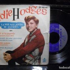 Discos de vinilo: EDDIE HODGES LLAMARE A TU PUERTA + 3 EP SPAIN 1961 PDELUXE. Lote 95775383