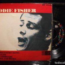 Discos de vinilo: EDDIE FISHER ARRIVEDERCI ROMA + 3 EP SPAIN 1962 PDELUXE. Lote 95775459