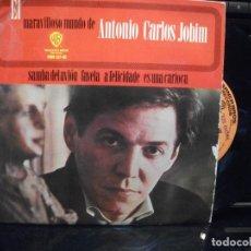 Discos de vinilo: ANTONIO CARLOS JOBIM SAMBA DEL AVION + 3 EP SPAIN 1965 PDELUXE. Lote 95775963