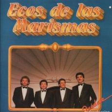 Discos de vinilo: ECOS DE LAS MARISMAS-QUEDATE, JUNTOS HICIMOS EL CAMINO..LP FONOMUSIC DE 1987 ,RF 3801. Lote 95787315