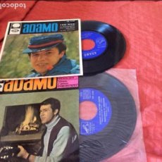 Discos de vinilo: ADAMO LOTE SINGLES. Lote 95793319