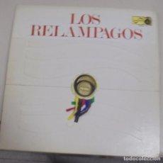 Discos de vinilo: LP. LOS RELAMPAGOS. 6 PISTAS. ZAFIRO 1966. Lote 95793795