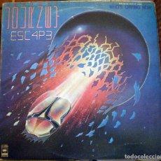 Discos de vinilo: JOURNEY – ESCAPE LP EDICIÓN FILIPINAS. Lote 95797451