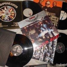 Discos de vinilo: LOTE 4 LP, MAXI LONDONBEAT ARRESTED DEVELOPMENT HEAVY BOYZ MARLEY AMII STEWART..HIP HOP, FUSIÓN. Lote 95798503