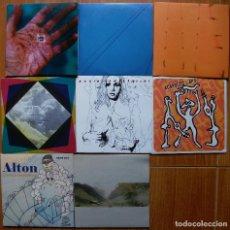 Discos de vinilo: LOTE 8 SINGLES INDIE, EXPERIMENTAL... UNO DOBLE EN TOTAL 9 SINGLES. Lote 95798943
