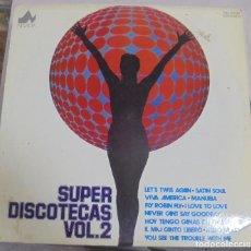 Discos de vinilo: LP. SUPER DISCOTECAS VOL.2. 1977. DIAL DISCOS. Lote 95800399